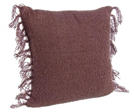 Dekorační polštář Fatima Fringe Bordeaux 45x45 cm