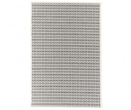 Preproga Stuoia Ecru Black 155x230 cm