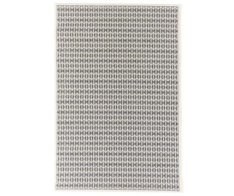 Covor Stuoia Ecru Black 155x230 cm