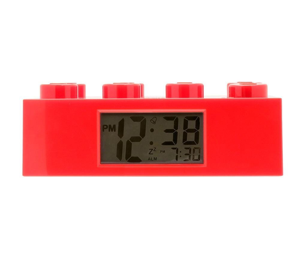 Sat s alarmom Lego Brick Monden Red