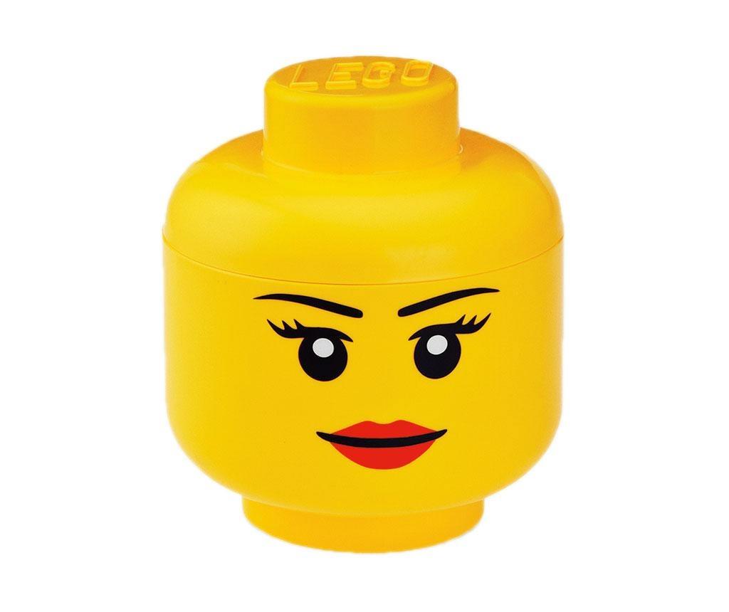 Kutija s poklopcem Lego Pretty Girl S
