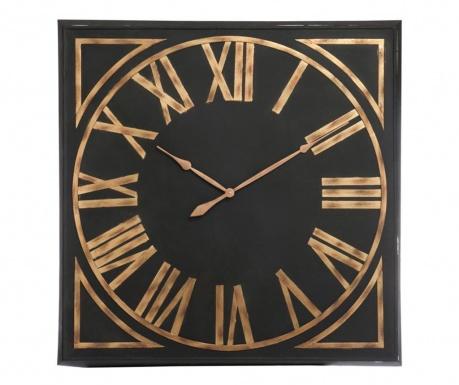 Стенен часовник Numerals Black Brown
