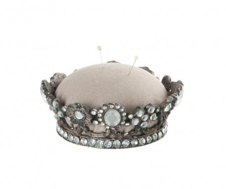 Възглавничка за игли Crown