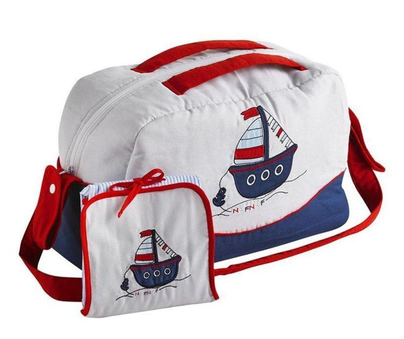 Sada taška a skládací matrace na přebalování Boat