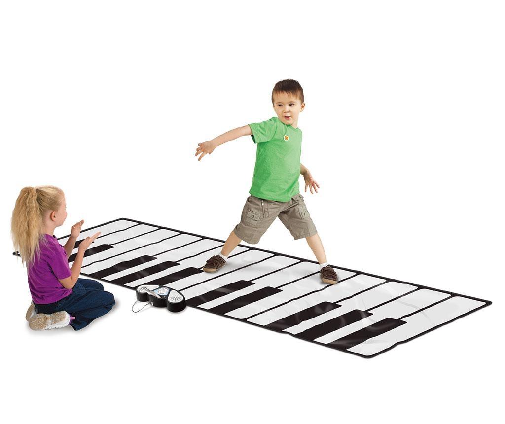 Covor muzical cu activitati Gigantic Keyboard 74x180 cm