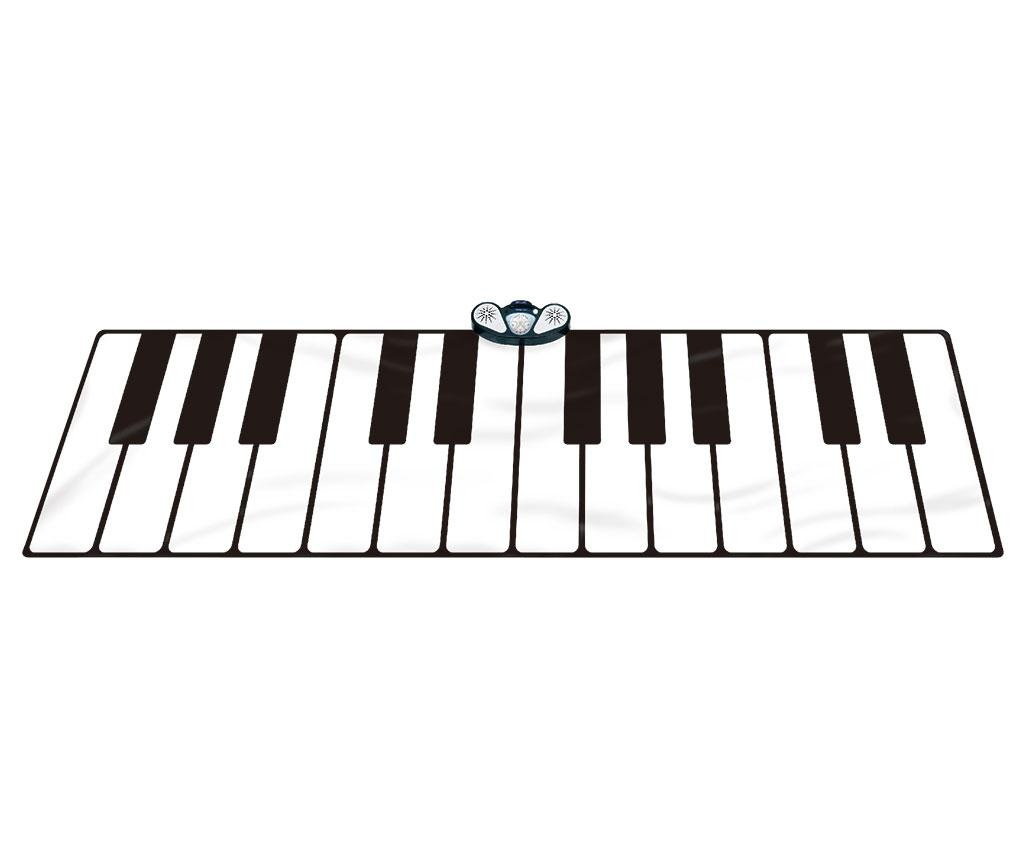 Glasbena podloga z aktivnostmi Gigantic Keyboard 74x180 cm