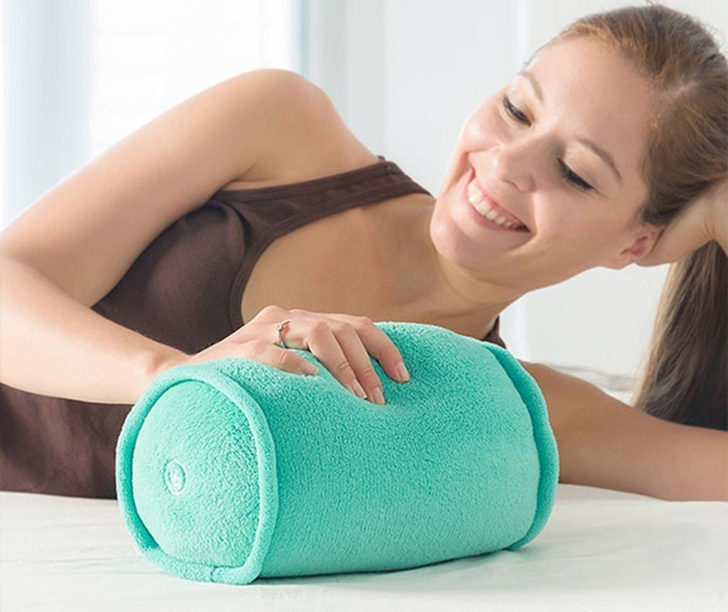 Jastuk za vrat s  vibromasažom Cylindro Pro 15x25 cm