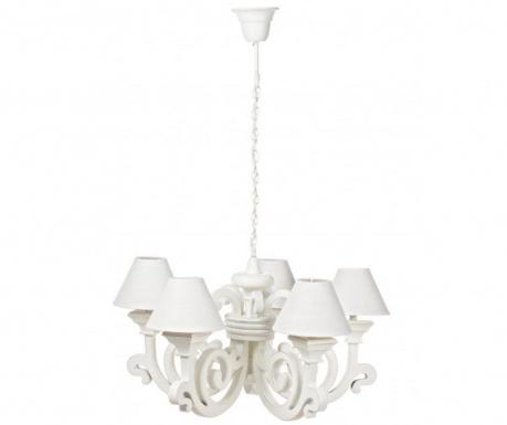 Závesná lampa Bastia White