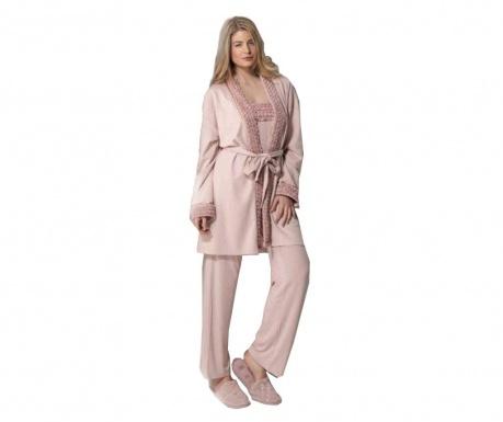 Дамски домашен халат Elise Powder Pink