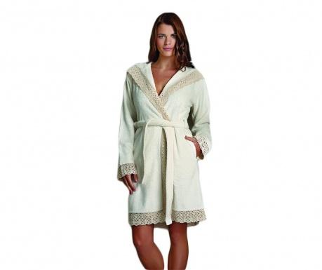 Дамски халат за баня Daphne Cream