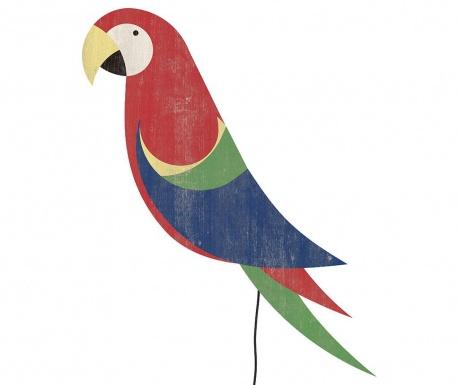 Red Parrot Fali fénydekoráció