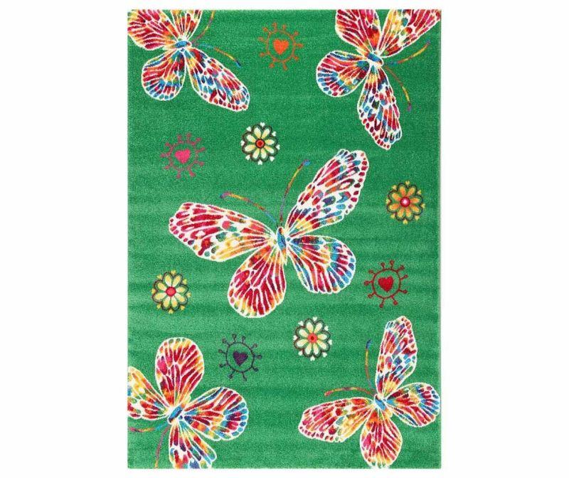 Covor Farfalle Green 133x190 cm