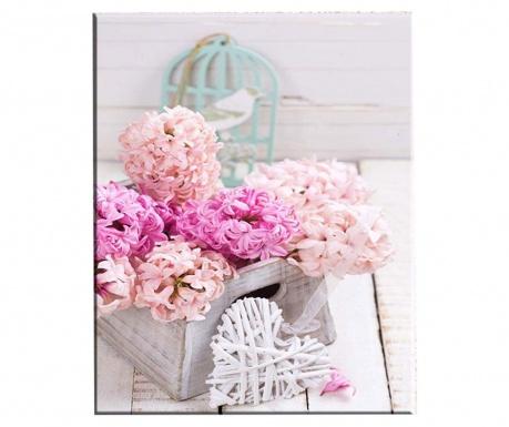 Картина Hyacinth 100x140 см
