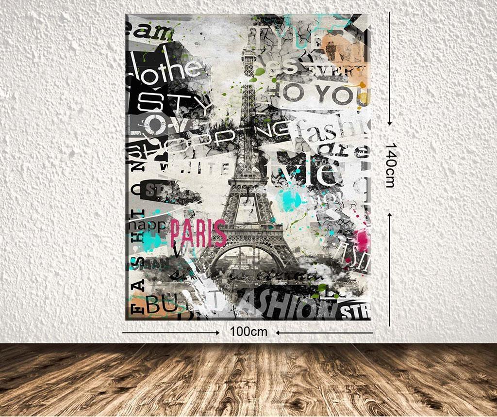 Tablou Paris 100x140 cm
