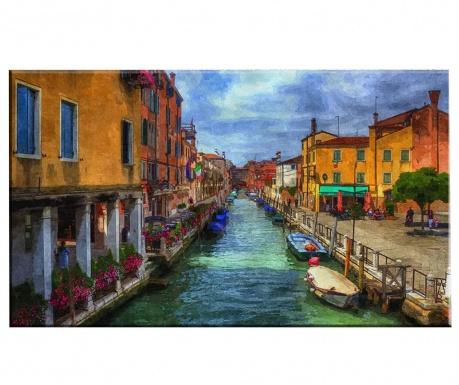 Картина Venice Ride 100x140 см