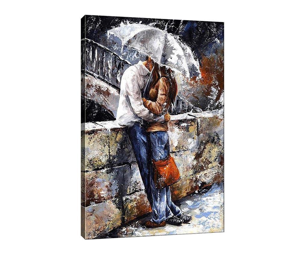 Slika Kissing in the Rain 50x70  cm