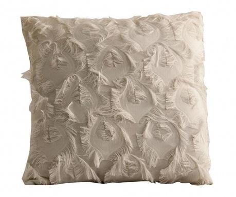 Dekoračný vankúš Fringe White 45x45 cm