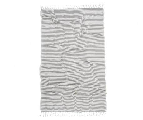 Dominika Grey Pestemal Fürdőszobai törölköző 90x170 cm