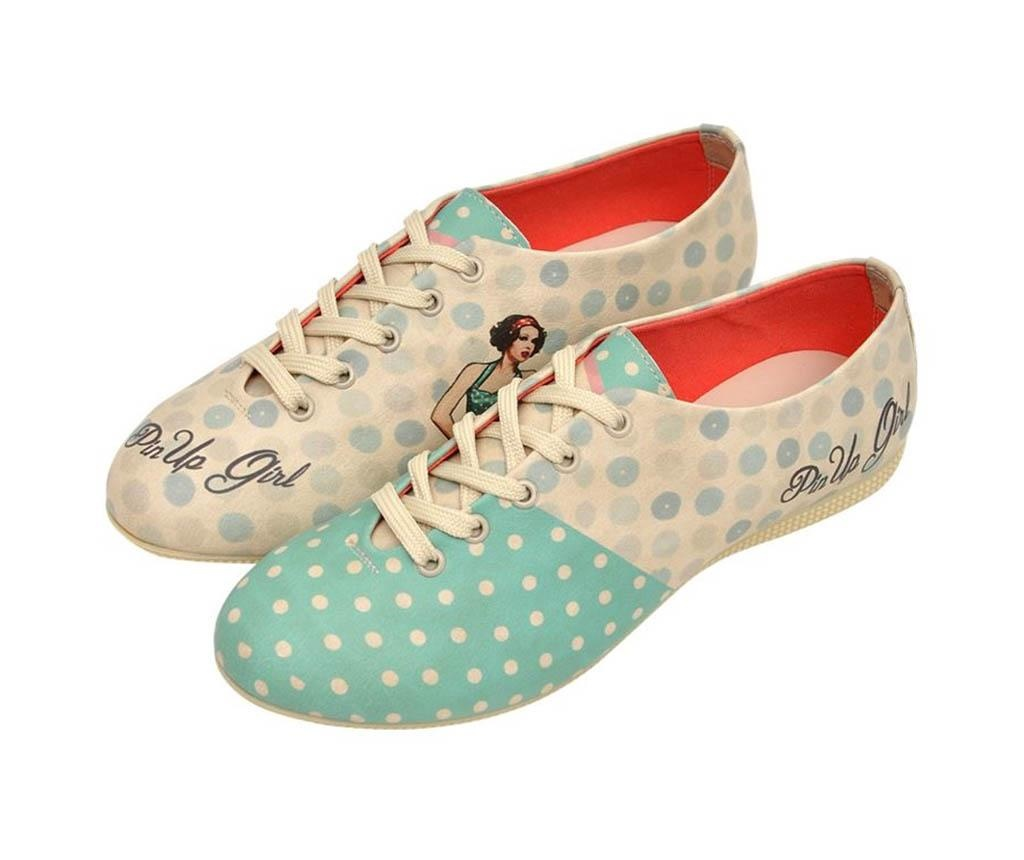 Pantofi dama Pin Up Girl 36