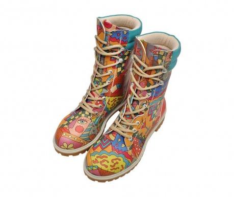 Γυναικείες μπότες Artsy Long