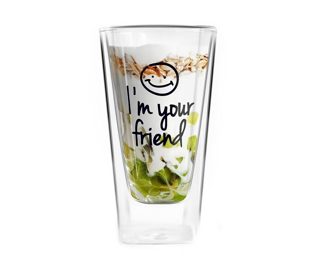 Pahar Your Friend 300 ml