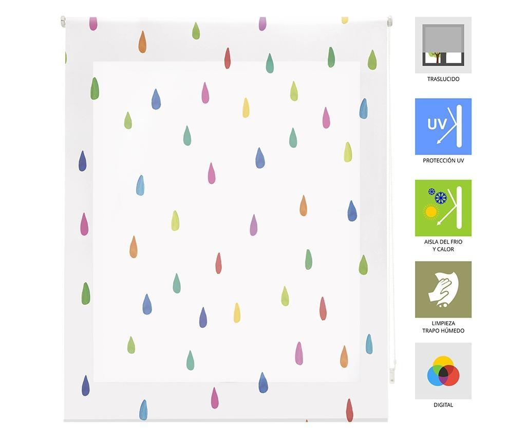 Rolo zastor Rainbow Drops 180x180 cm