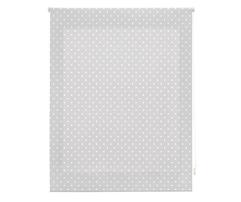 Dots Grey Roletta 120x180 cm