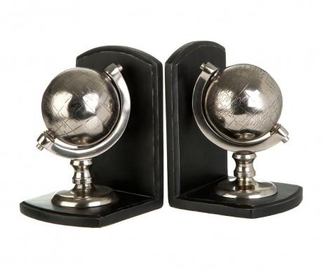 Set 2 suporturi pentru carti Kensington Globe