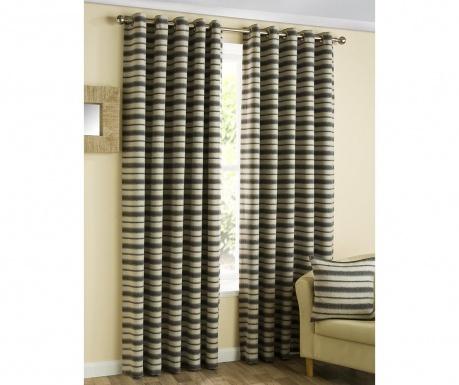 Set 2 draperii Horizon Charcoal 117x137 cm