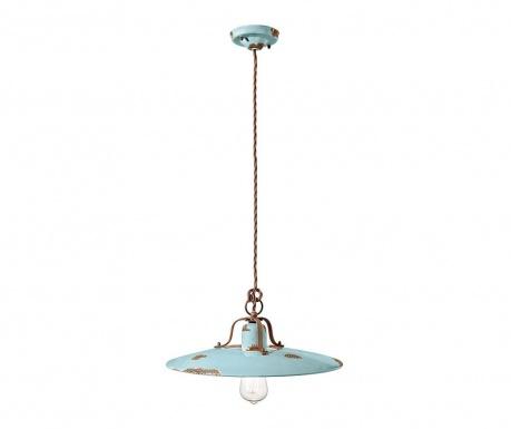 Závesná lampa Grunge Azzurro