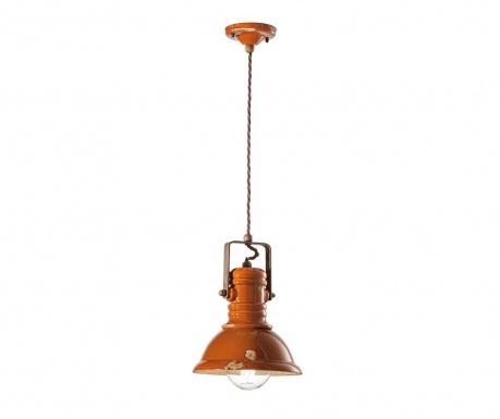 Závěsná lampa Derrain Orange