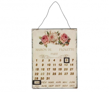 Ημερολόγιο τοίχου Rose