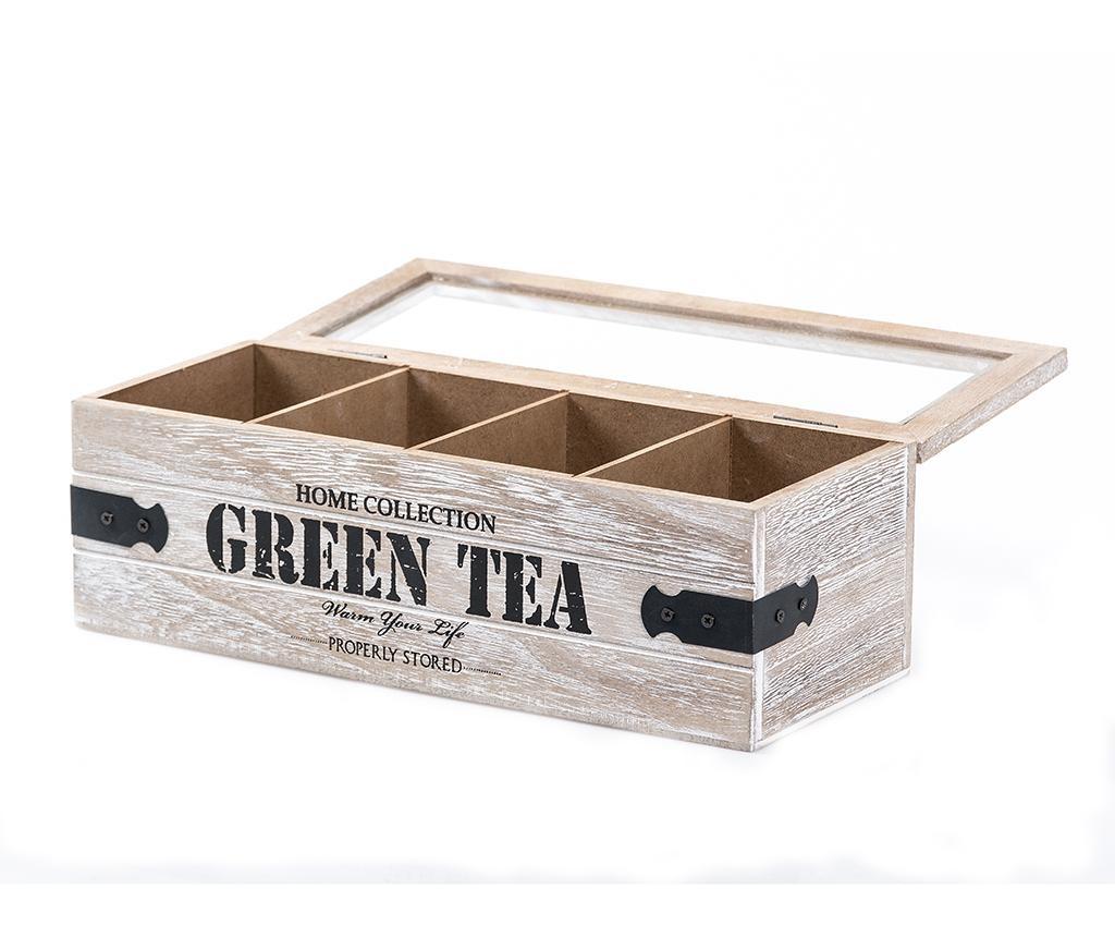 Cutie cu capac pentru ceai Home Collection Four