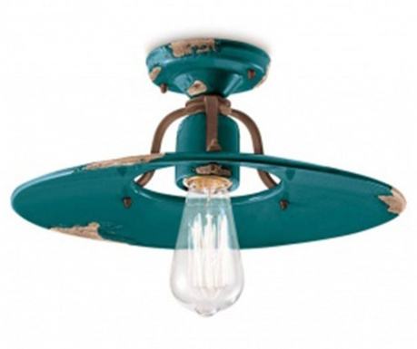 Stropná lampa Orion Tall Green