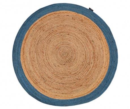 Covor tip pres Roberta Natural & Blue 120 cm