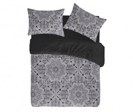 Prevleka za odejo Percale Oriane Black 200x200 cm