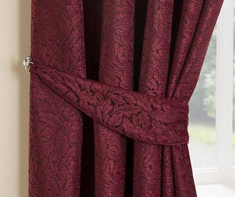 Set 2 accesorii pentru draperie Balmoral Bordeaux