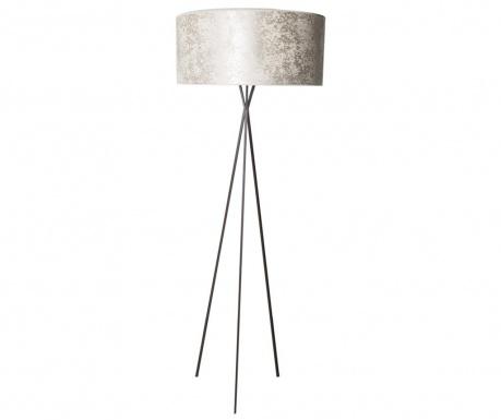 Podlahová lampa Priscilla Champagne