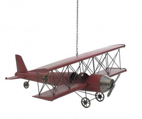 Závesná dekorácia Aeroplane Red