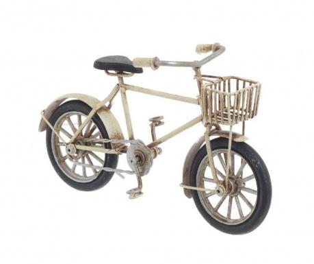 Dekorácia Bike with Basket Creme
