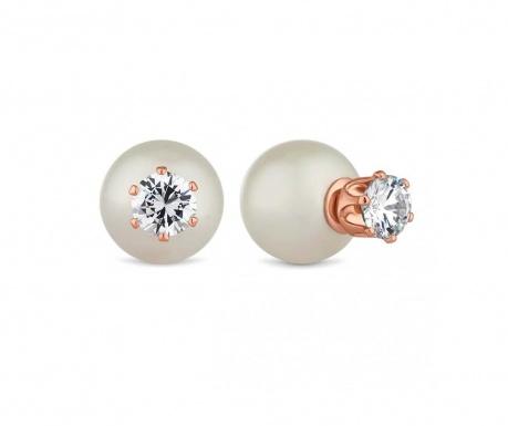 Náušnice Pearl 2 in 1