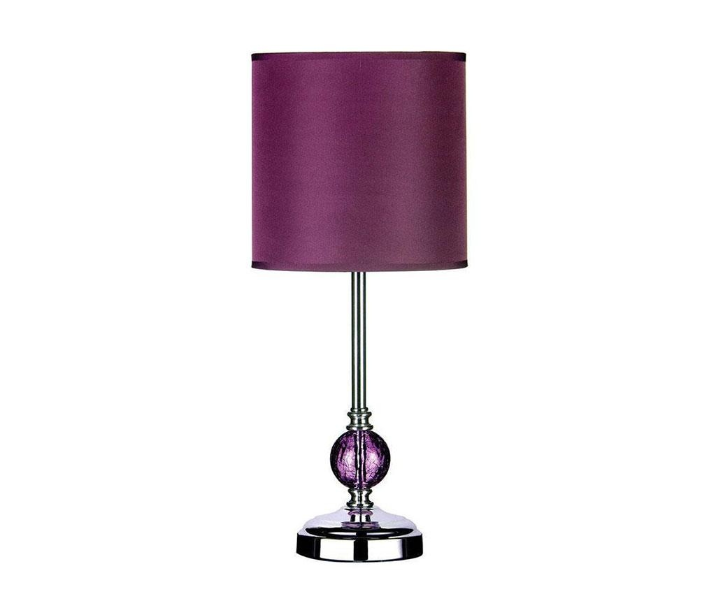 Veioza Crackle Purple