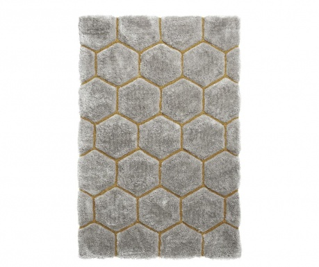 Koberec Noble House Comb Grey Yellow 120x170 cm