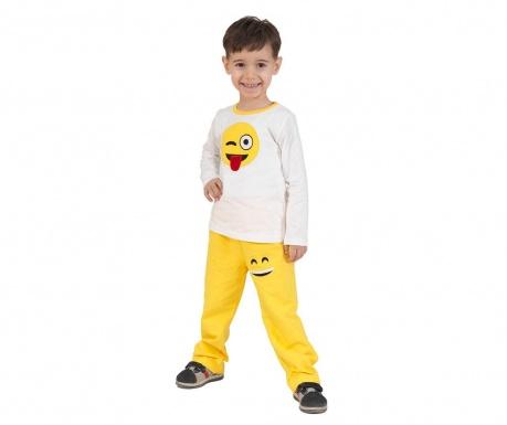Sada tričko a detské nohavice Smile Baggy Yellow