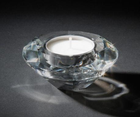 Świecznik Luxury Diamond Round