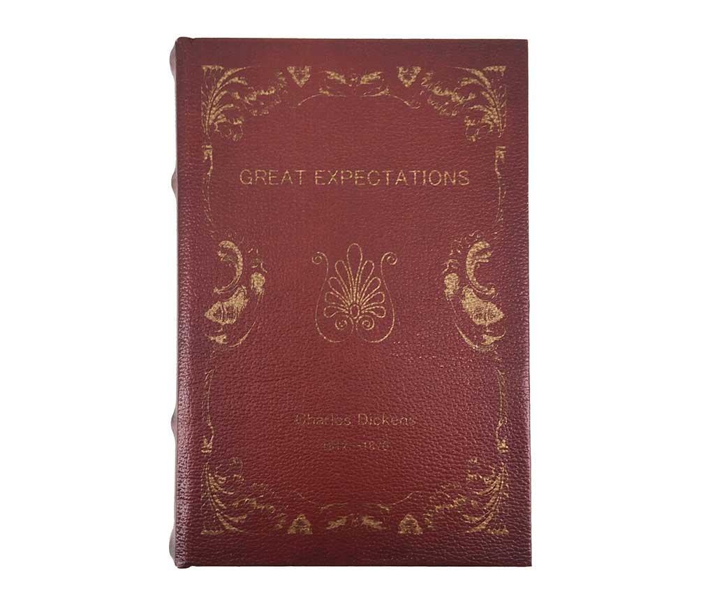 Комплект 2 кутии тип книга Great Expectations