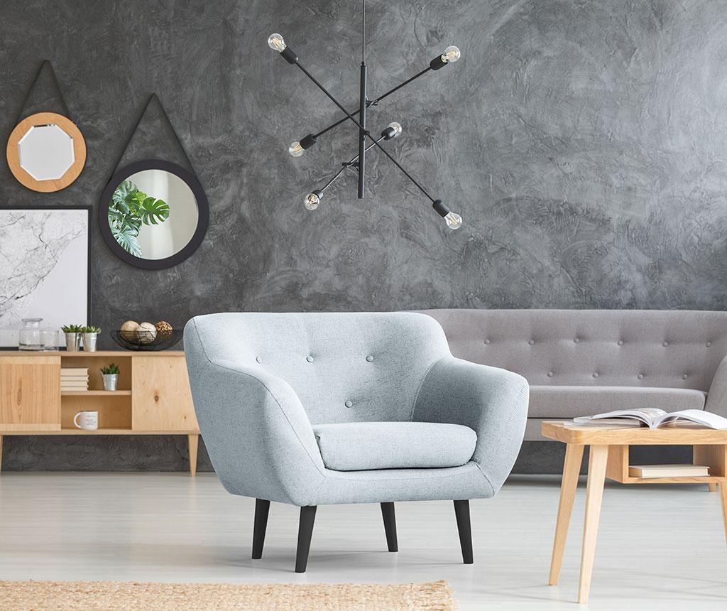 Fotelj Piemont Light Blue