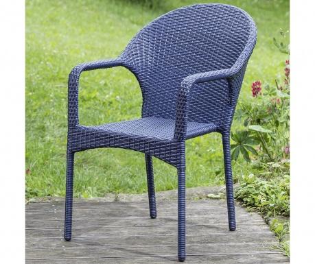 Exteriérová stolička Brevin Blue