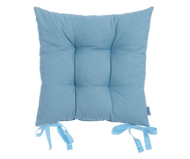 Polštář na sezení Pure Deep Blue 37x37 cm