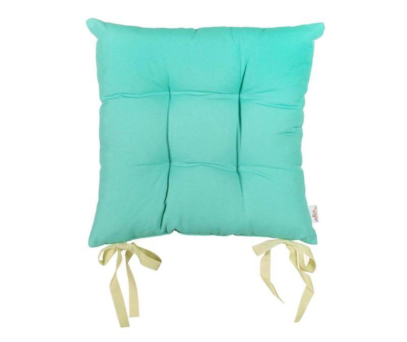 Pure Turquoise Blue Ülőpárna 37x37 cm